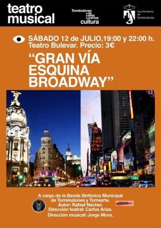 """""""Gran Vía Esquina Broadway"""", musical de Rafael Nacher"""