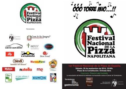 Pizzeria Luigi Cuciniello organiza el I Festival Nacional de la Pizza Napolitana - Será a beneficio de la Asociación Contra el Cáncer de Torrelodones