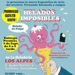 concurso de Helados Imposibles en Heladería Los Alpes de Torrelodones