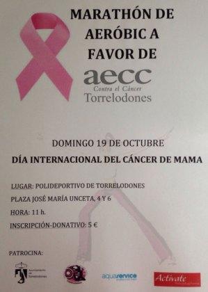 Maratón de Aeróbic a favor de AECC Torrelodones