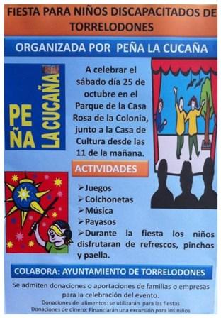 Fiesta para Niños Discapacitados de Torrelodones