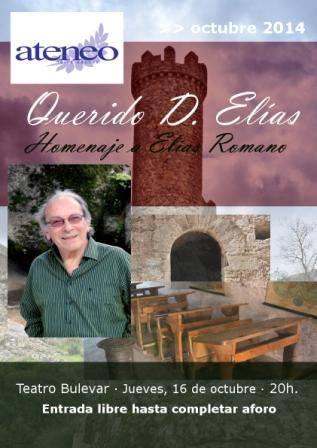 Homenaje a Elías Romano, maestro de Torrelodones