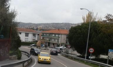 La rotonda vista desde el puente que comunica con el AHS