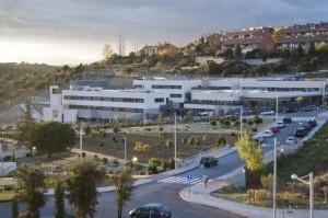 Vista de la sede de la calle Arroyo de los Viales del Colegio San Ignacio de Loyola