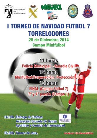 I Torneo de Navidad Fútbol 7 - Torrelodones, 28 de diciembre 2014