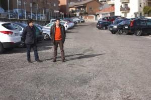 Parking disuasorio calle Teneria en Galapagar