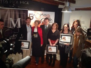 Premiados IV Ruta del Cocido Madrileño (Foto: https://www.facebook.com/RutaDelCocidoMadrileno)
