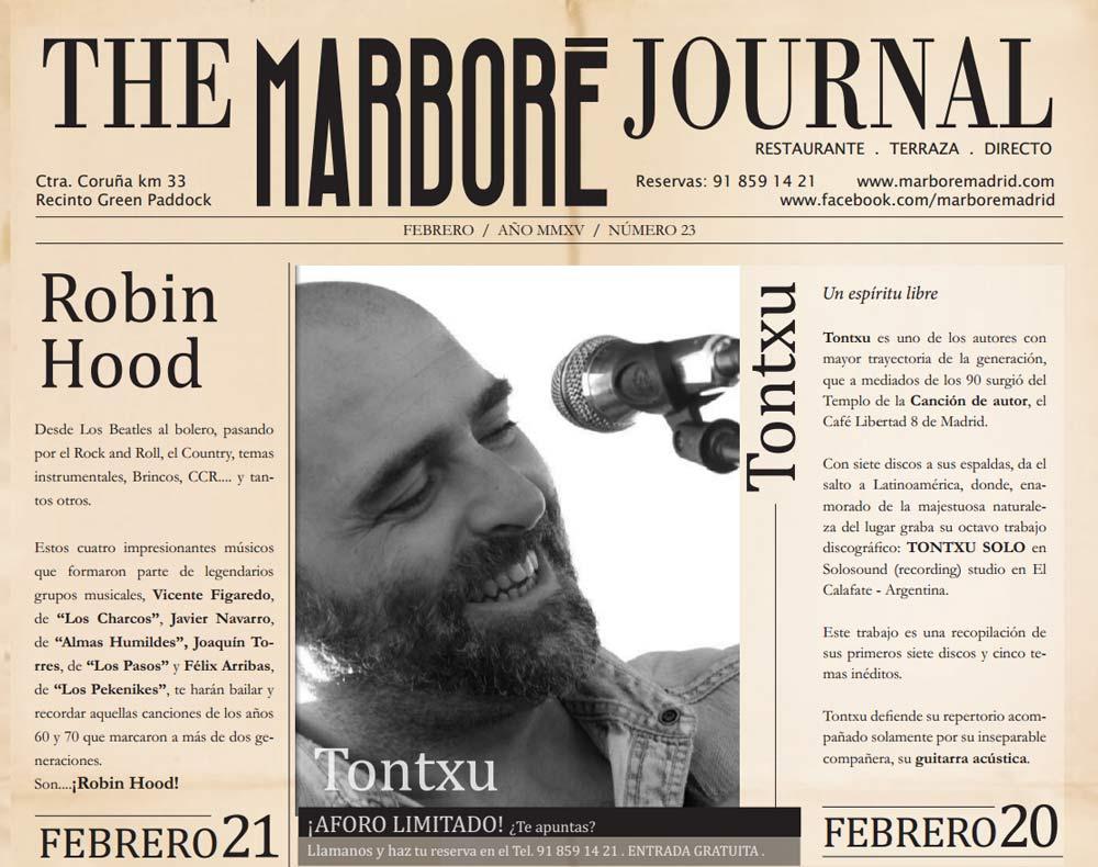 Viernes 20-2-2015 y sábado 21 en Marboré (A6- Salida 33 - Recinto Green Paddock)