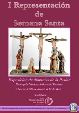 Exposición de dioramas de la Pasión por la Asociación de Belenistas de Hoyo de Manzanares