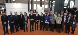 La Junta Directiva de la Red Española de Ciudades Inteligentes (RECI), en Sabadell, 25-2-2015 (Foto: RECI)