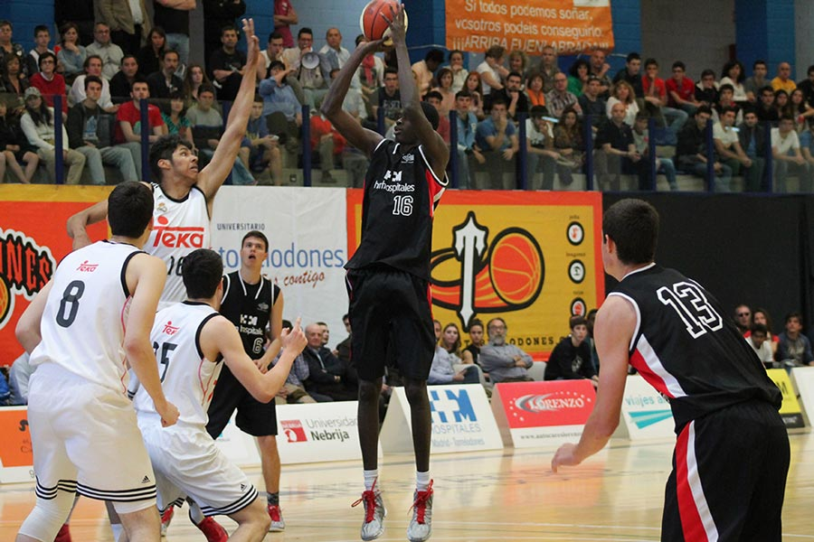Final Four Junior Masc. HM Torrelodones- Real Madrid (Foto: btorrelodones.com)
