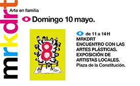 Mercado de Arte en la plaza de la Constitución. Domingo 10 de mayo 2015