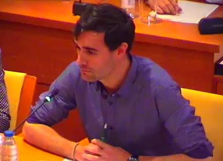 Guillermo Martín, concejal y portavoz del Grupo Municipal Socialista