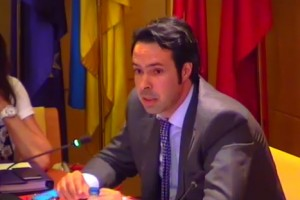 Jorge García, portavoz del Grupo Municipal Partido Popular de Torrelodones