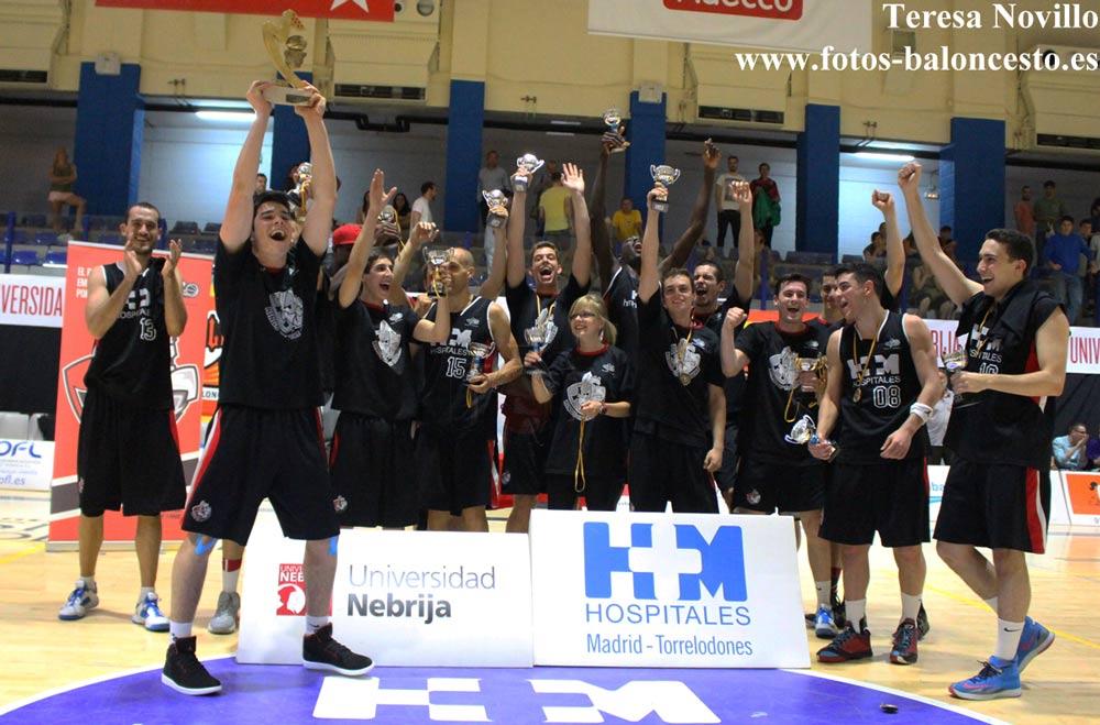 Oro y ascenso a la Liga EBA del HM Torrelodones (Foto: Teresa Novillo Peláez)