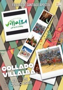 Fiestas Collado Villalba Santiago Apóstol