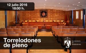 Pleno 12 de julio de 2016