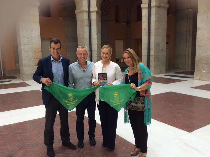 Cristina Cifuentes y Ramón Regueiras