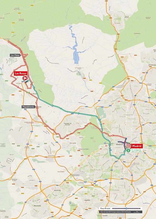 Vuelta Ciclista España 2016 - Etapa 21º 11 septiembre. Fuente: Lavuelta.com