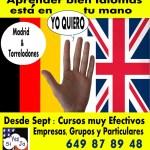 Clases de inglés y alemán con Fernando Ahumada Bart, en Torrelodones y Madrid