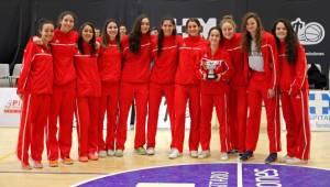 Subcampeonas del torneo: Rivas Parque Sureste (Foto: Baloncesto Torrelodones)