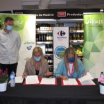 Alcaldesa de Collado Villalba y la directora de Carrefour firman convenio de colaboración