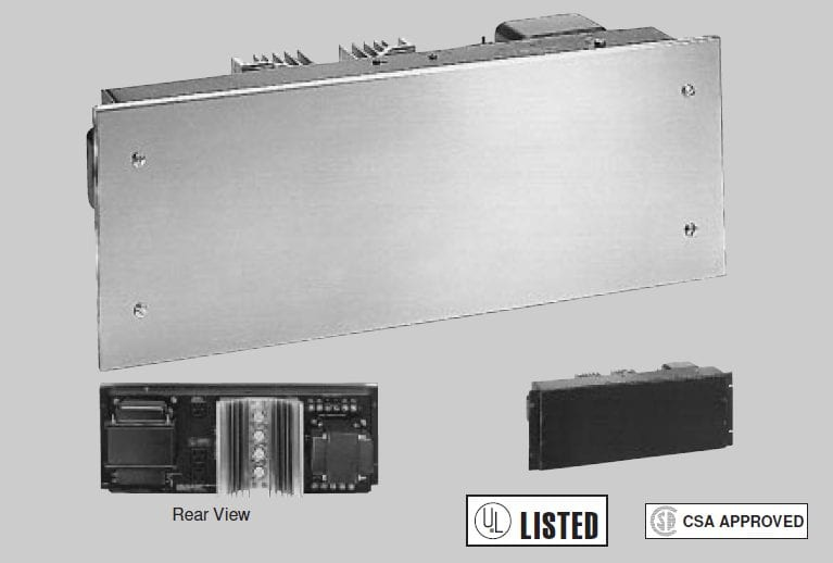 Rauland Communications DAX120 120-Watt Power Amplifier