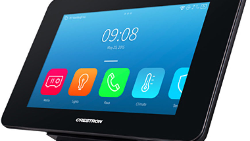 Crestron Debuts TST-902 WirelessTouch Screen Controller