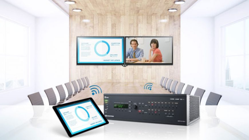 Crestron ships 3-Series 4K60 DigitalMedia systems in EMEA
