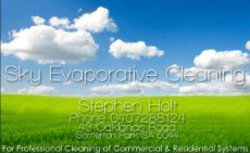 sky evaporative cleaning