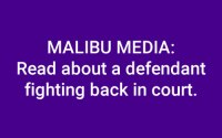 Malibu Media Lawsuit