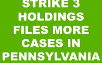 Strike 3 Holdings Lawsuit Pennsylvania