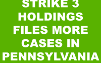Strike 3 Holdings Lawsuit Pennsylvania