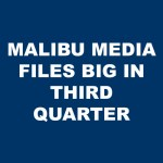 Malibu Media LLC Files Big for 2018's Third Quarter