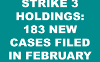 Strike 3 Holdings Subpoena