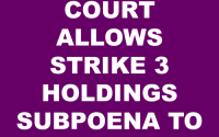 Copyright Defense Attorney Strike 3 Holdings