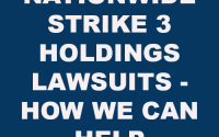 Strike 3 Holdings Lawsuits