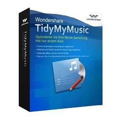 Wondershare TidyMyMusic v3.0.2.1 Crack Mac + Key Latest 2021