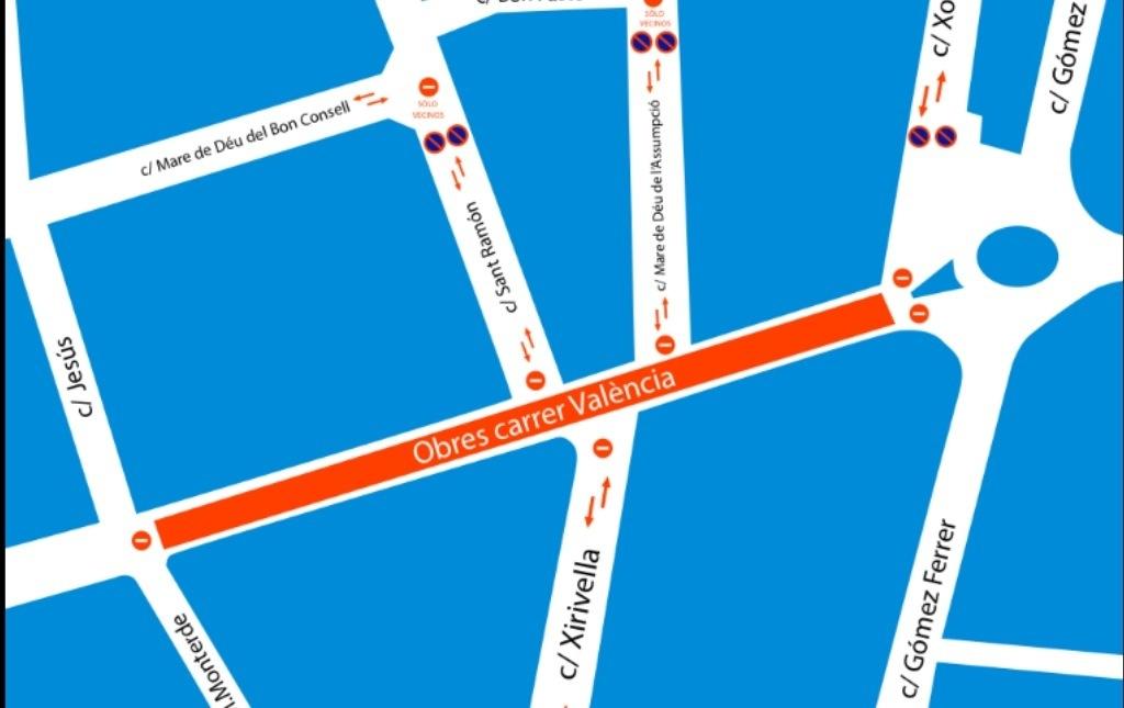 La calle Valencia será una de las mejores avenidas de ...