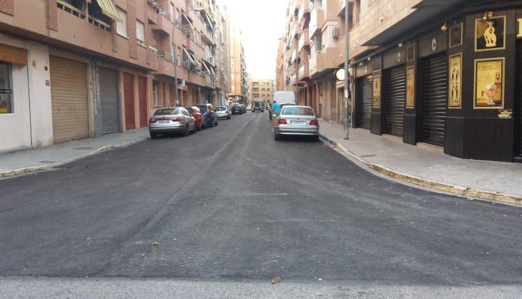 asfaltado de calles de Torrent