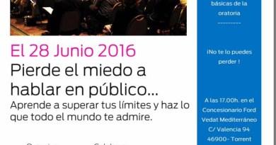 Corazones Abiertos y Ford Vedat Mediterráneo organizan un taller para perder el miedo a hablar en público