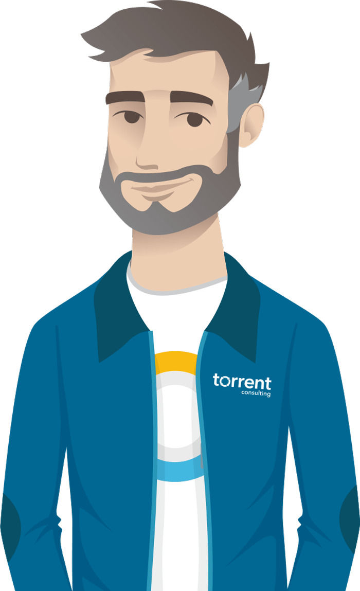 Torrent Consulting guide - man with beard