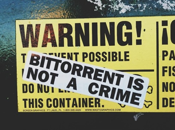 bittorrent not a crime