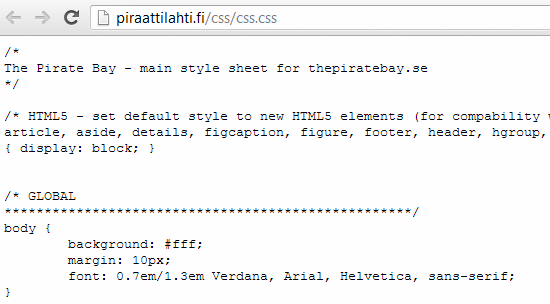 pirated-css