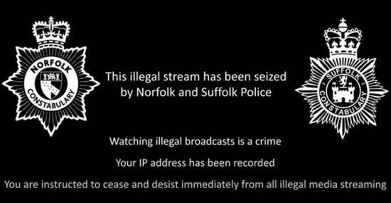 Police Seize IPTV