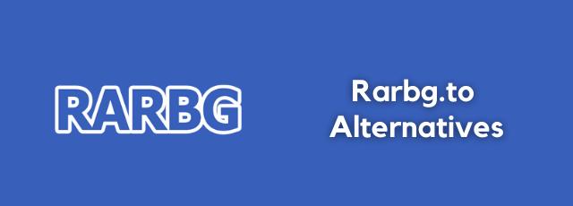 Rarbg.to Alternatives