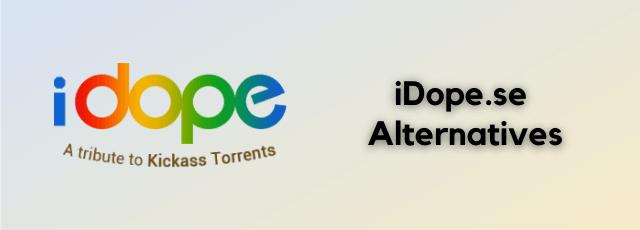 iDope.se Alternatives