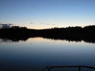 In der Einsamkeit, keine 50km von Stockholm