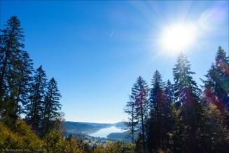 Mit dem Stauziel von 930 m ü. NN ist der Schluschsee der höchstgelegene Talsperrensee Deutschlands