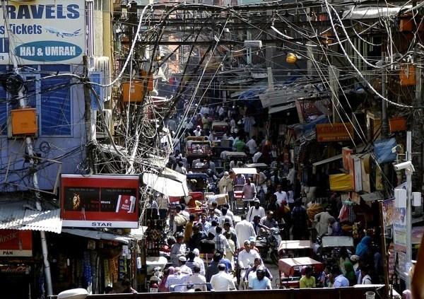 Neu-Delhi, bald die zweitgrößte Megacity der Welt | Foto: pixabay.com